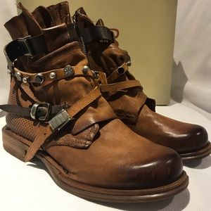 A.S 98 leather boots